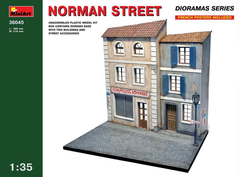 MiniArt Norman Street