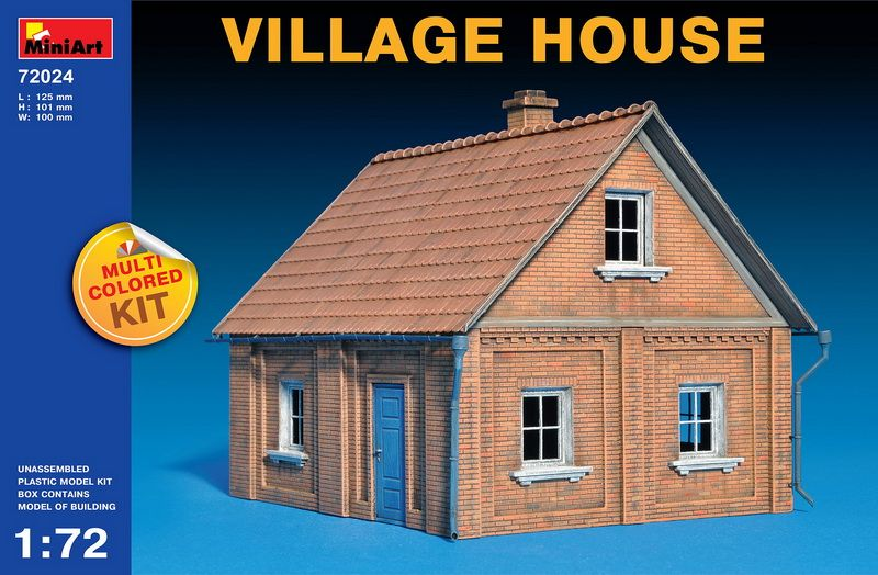 MiniArt Village House