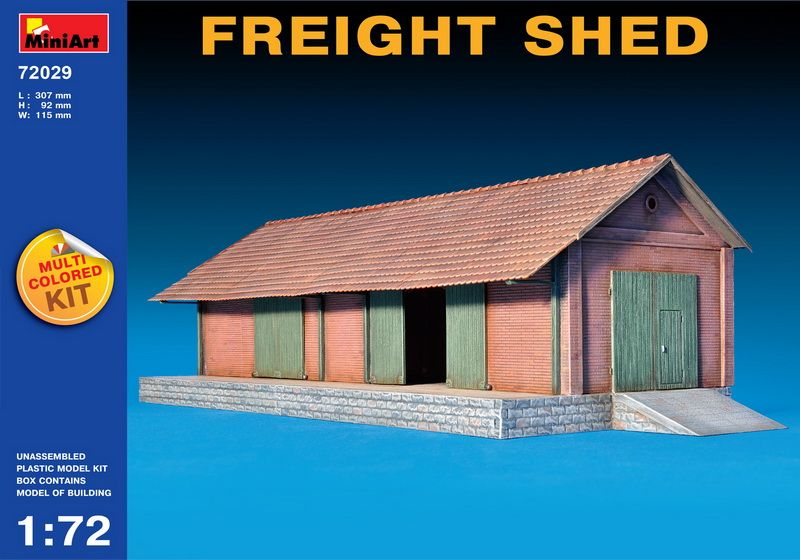 MiniArt Freight Shed
