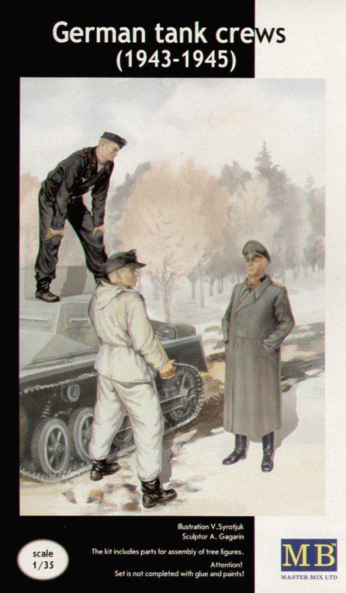 Masterbox German Tank Crew (1943 - 1945)