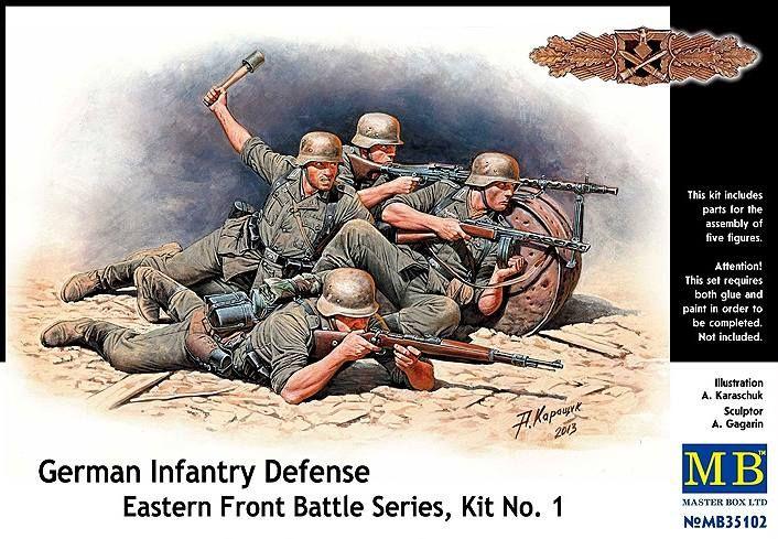 Masterbox German Infantry Defence, Eastern Front Battle Series