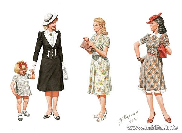 Masterbox Women of WWII Era