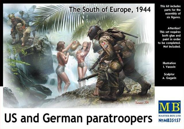 Masterbox US and German Paratroopers, 1944