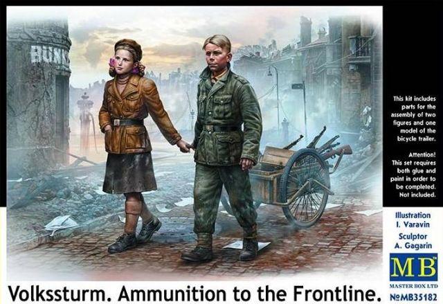 Masterbox Volkssturm. Ammunition to the Frontline