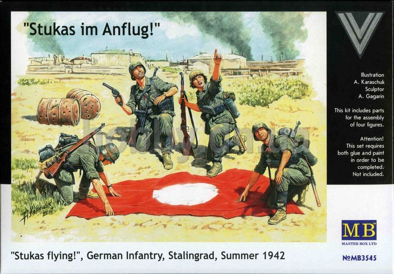 Masterbox German Infantry, Stalingrad, Summer 1942