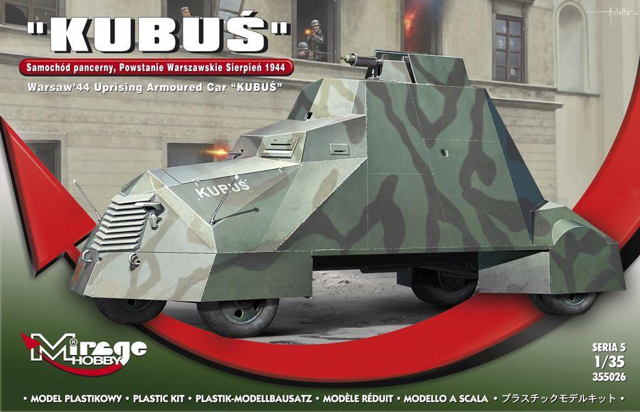 Mirage KUBUS Warsaw'44 Uprising Armoured Car