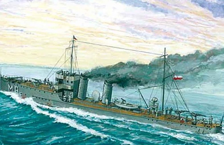 Mirage Torpedoboot Mazur 1935