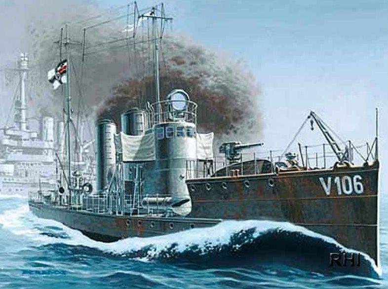 Mirage German Torpedo Boat V 106