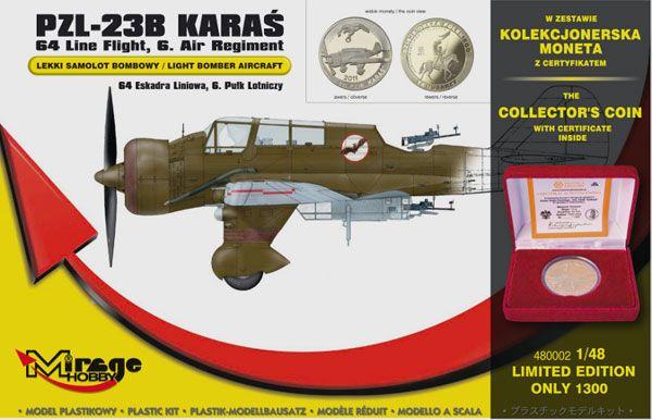 Mirage PZL-23B Karas Light Bomber 64th Line