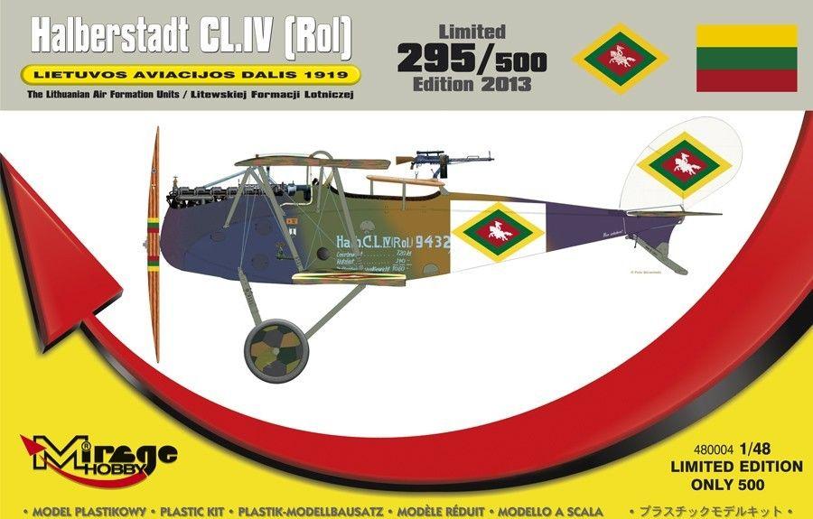 Mirage Halberstadt CL.IV(Rol) LIETUVOS 1919