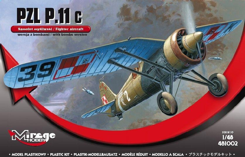 Mirage PZL P-11c with bombs