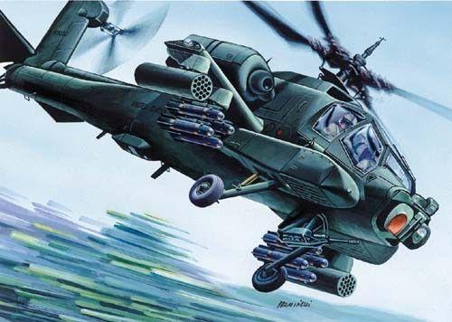 Mirage McDonnell Douglas AH-64 A Apache