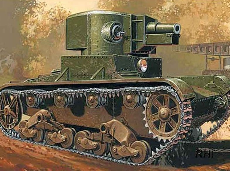 Mirage Light Tank T-26 A 76,2 mm