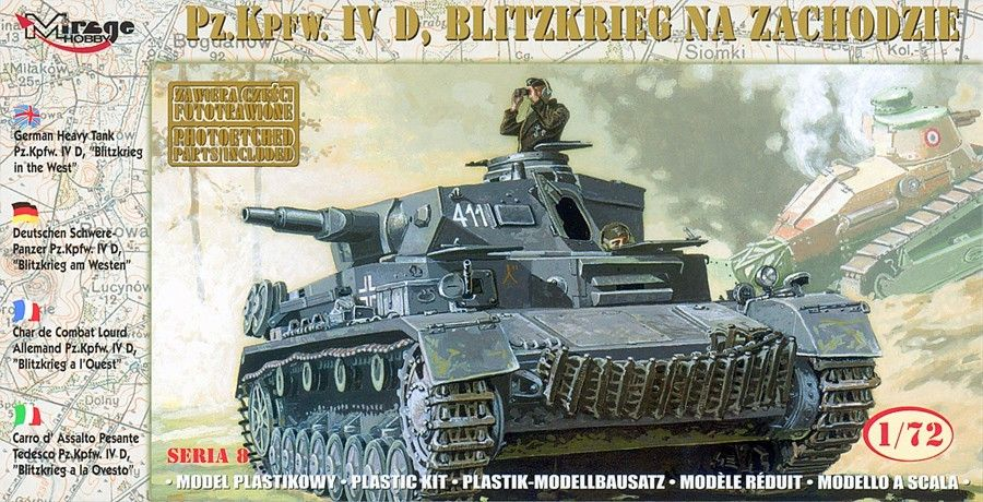 "Mirage Pz.Kpfw. IVD ""BLITZKRIEG in the WEST"""