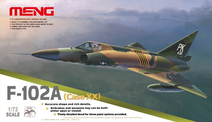 Meng Model F-102A (CASE XX)