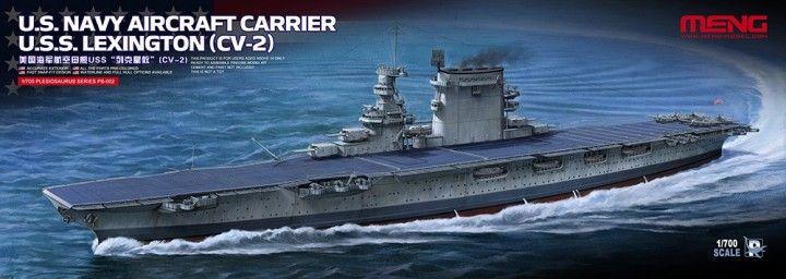 Meng Model U.S.Navy Aircraft Carrier U.S.S. Lexington (CV-2)
