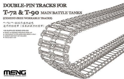 Meng Model Double-Pin Tracks for T-72 & T-90 Main Battle Tanks