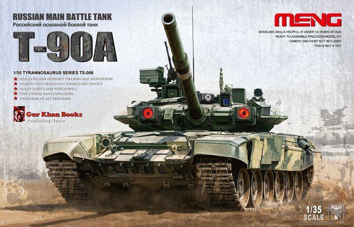Meng Model Russian T-90A MBT