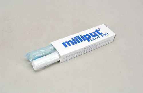 Milliput Silver-Grey Epoxy Putty 113g