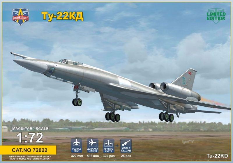 Modelsvit Tupolev Tu-22 Shilo (Blinder)