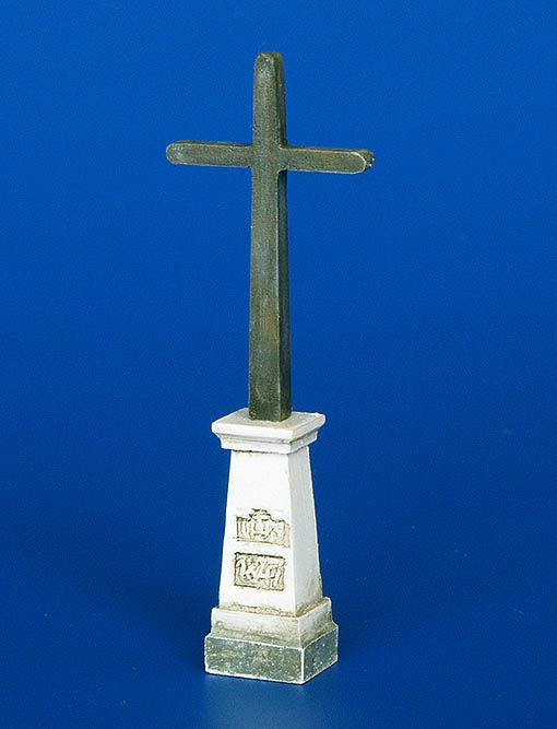 Plus Model Cross on pedestal