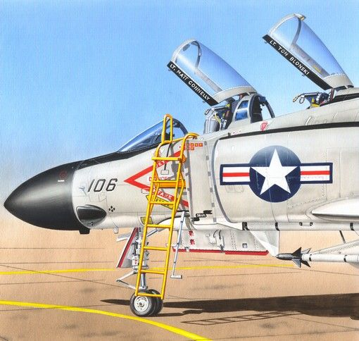 Plus Model Ladder for F-4 Phantom