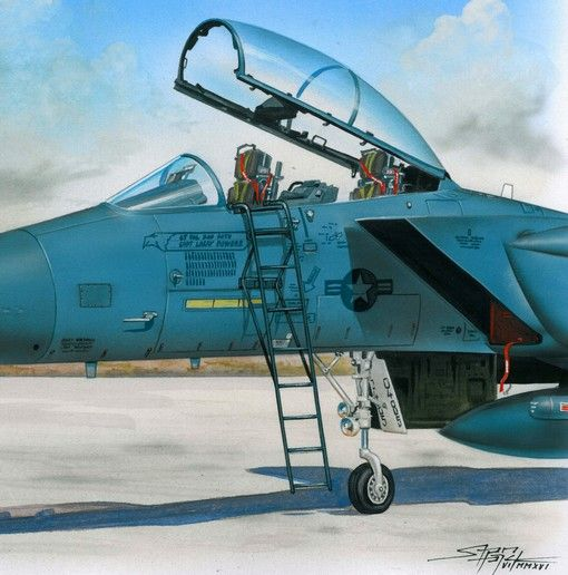 Plus Model Ladder for F-15