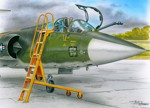 Plus Model Ladder for F-104