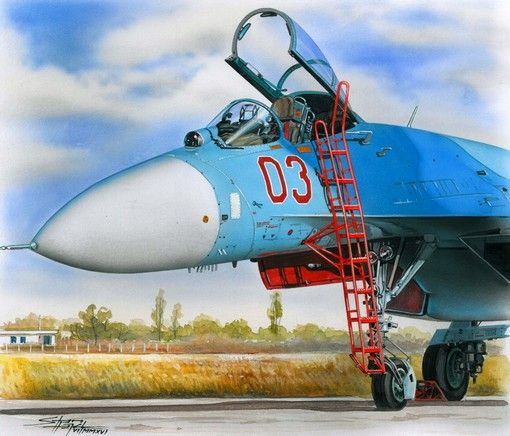 Plus Model Ladder for Su-27