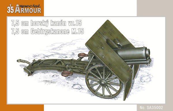 Special Armour 7,5 cm Gerbirgskanone M.15