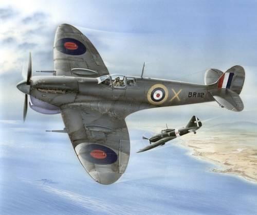 Special Hobby Supermarine Spitfire Mk. VC Malta Defender