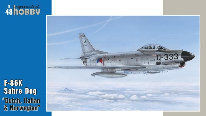 Special Hobby F-86K NATO All Weather Fighter