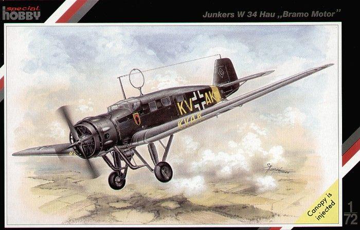 Special Hobby Junkers W 34 Hau Bramo Motor
