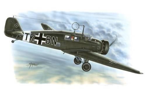 Special Hobby Junkers W 34 Hi