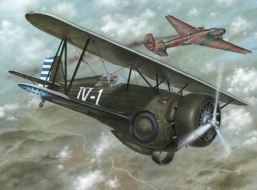 Special Hobby Model 68 Hawk III First Chinese Ace