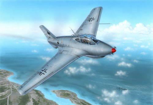 Special Hobby Messerschmitt Me 163C Bubble Canopy Ver
