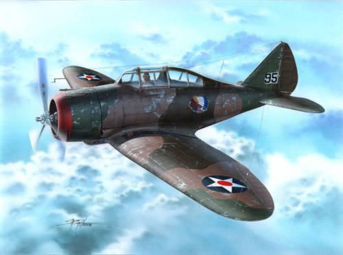 Special Hobby P-35 War games and War Training