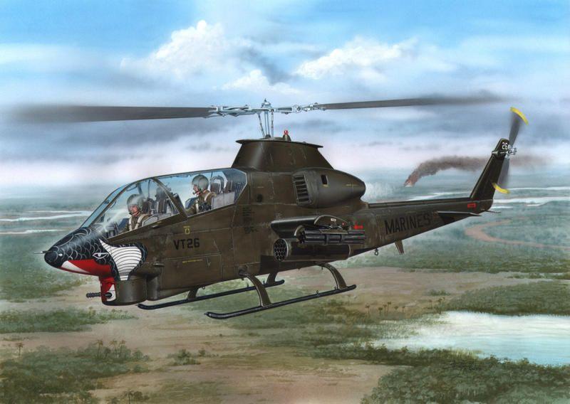 "Special Hobby AH-1G Cobra ""Marines"""