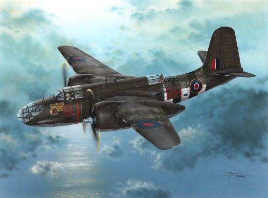 Special Hobby Boston Mk.IIIA Over D-Day Beaches
