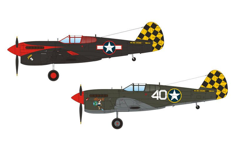 "Special Hobby P-40F/L Warhawk ""Checkertails"""
