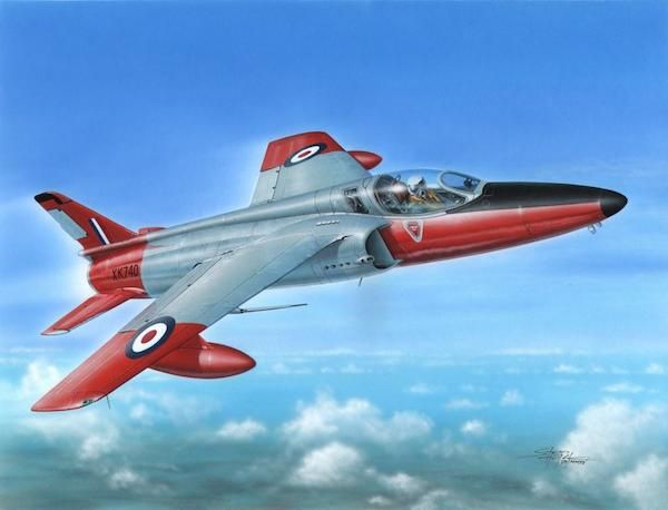 Special Hobby Folland Gnat f Mk.I British Single Seate