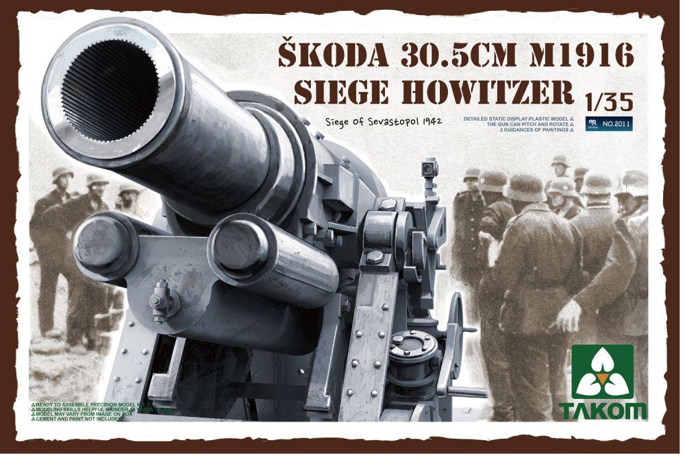 Takom Skoda 30,5cm M1916 Siege Howitzer