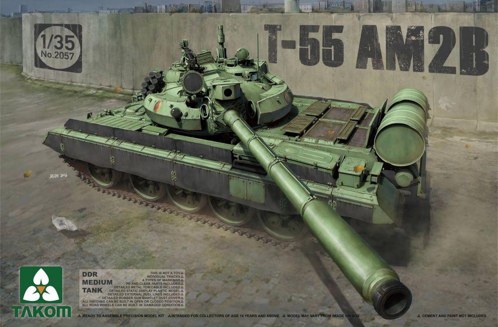 Takom DDR Medium Tank T-55 AM2B