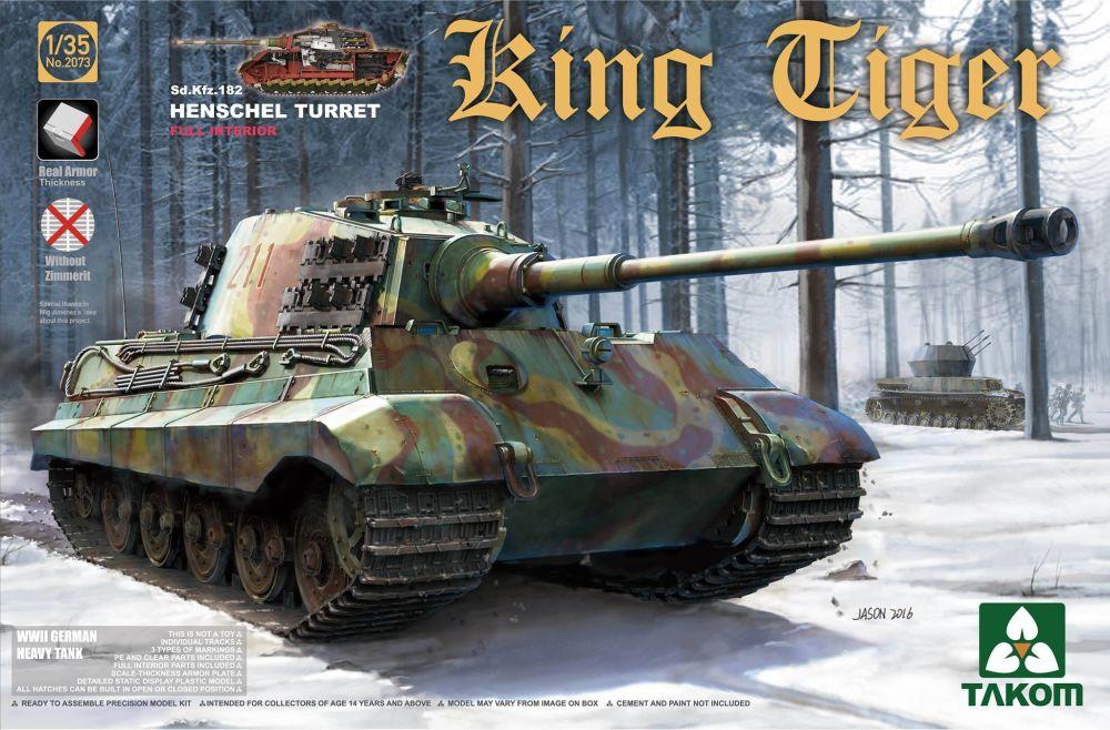 Takom Sd.Kfz.182 King Tiger Henschel Turret w/interior