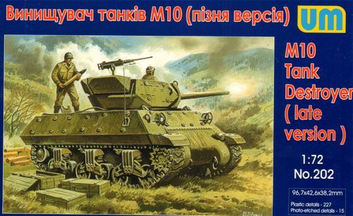 Unimodels M10 tank destroyer, late