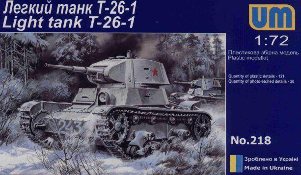 Unimodels T-26 Light Tank 1939