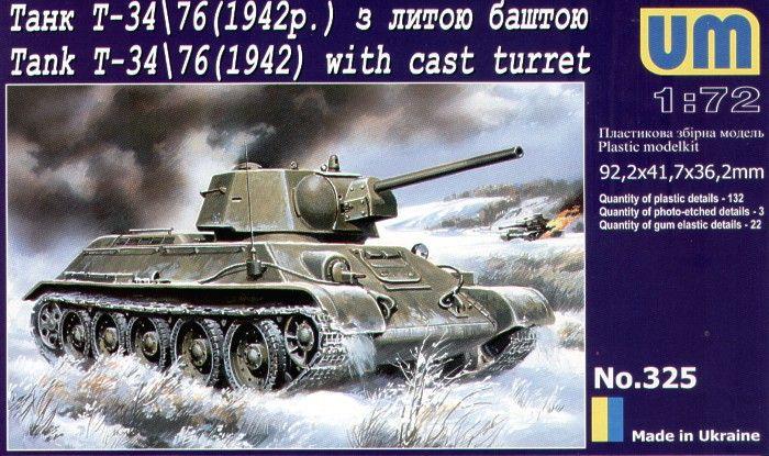 Unimodels Panzer T-34/76 (1942)