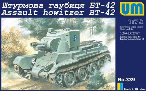Unimodels BT-42 Finnish assault howitzer(Re-relese