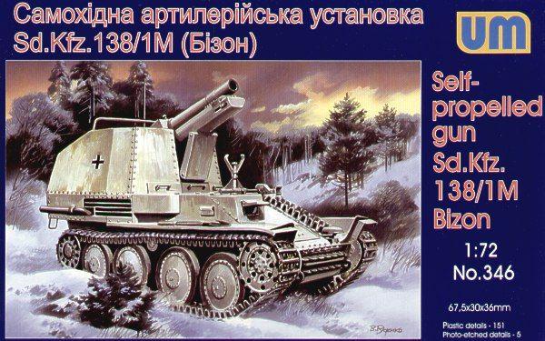 Unimodels Sd.kfz138/1M Bizon