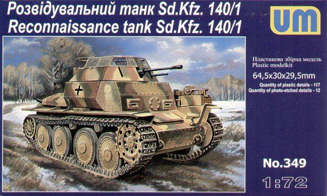 Unimodels Sd. Kfz. 140/1